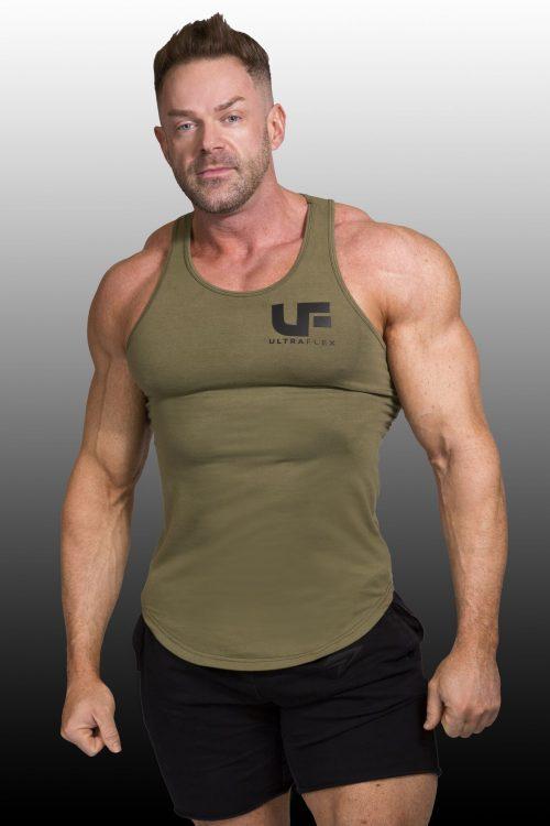 Khaki Green vest