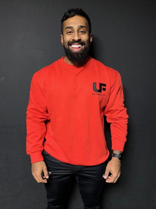 Ultra flex jumper red front